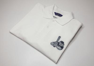 Koszulka polo z haftem komputerowym